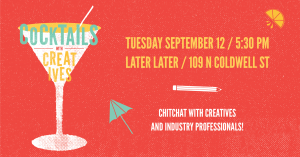 Cocktails with Creatives