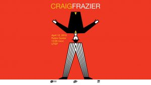 Craig Frazier lecture on Thursday, April 12th at noon at the Stanlee and Gerald Rubin Center for the Visual Arts